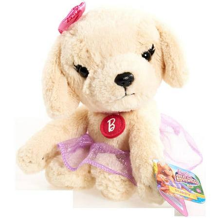 Barbie Puppy Adventure Bean Plush, Golden