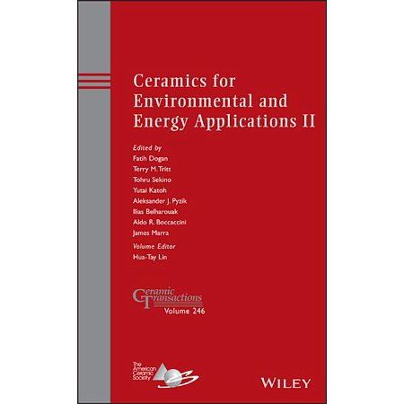 Ceramic Transactions: Ceramics for Environmental and Energy Applications II (Series #246) (Hardcover)