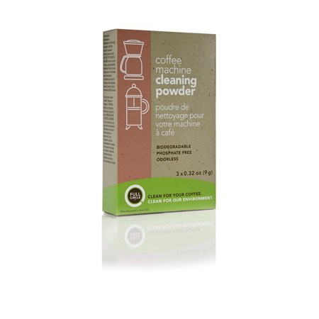 Full Circle Coffee Machine Cleaning Powder, 3 Single Use (Best Way To Clean Coffee Machine)