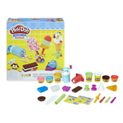 Play-Doh Kitchen Creations Frozen Treats Toy Ice Ceam Set with 7 Non-Toxic Colors in 1 and 2-Ounce Cans