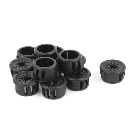 12 Grommets (Cable Hose 16mm Mount Dia Snap in Webbed Bushing Harness Grommet Protect 12 Pcs )