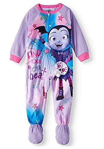 Vampirina Toddler Footed Pajamas Blanket Sleeper (3t) Purple