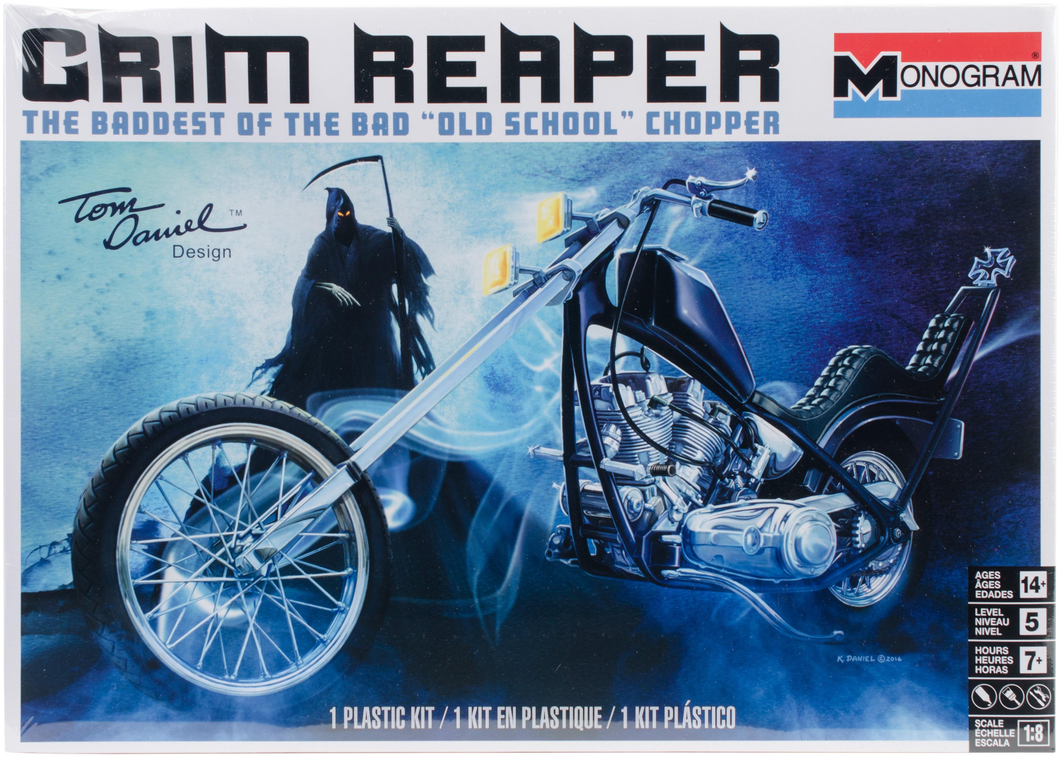 Revell Tom Daniel Grim Reaper Motorcycle Model Kit by Revell