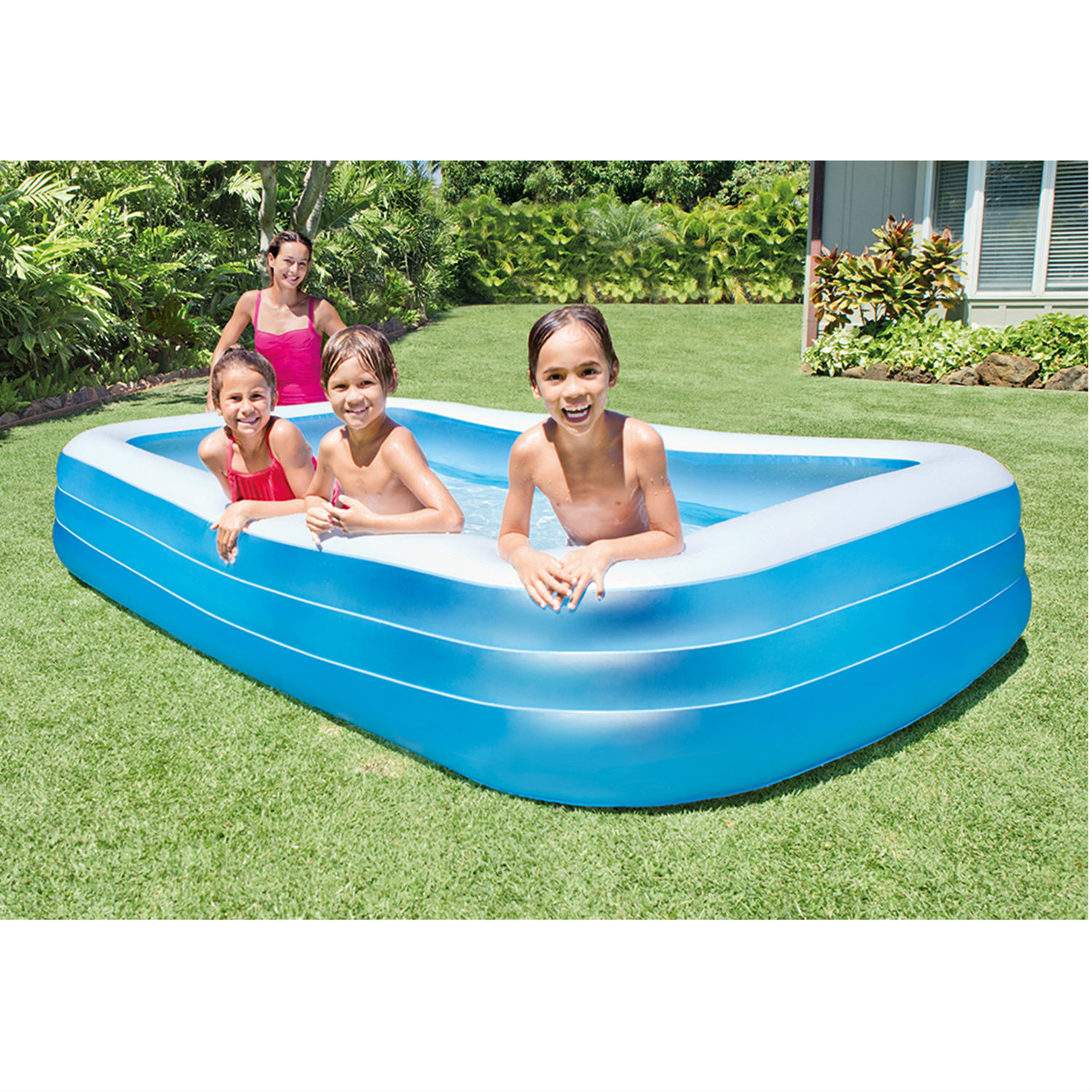 Intex Inflatable Swim Center Family Lounge Pool 120 X 72 X 22