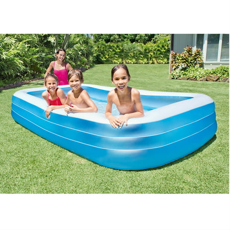 Donut pool toy kamisco Intex swim center family pool cover