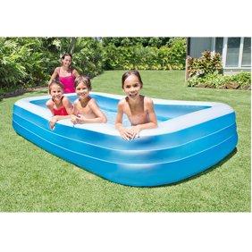 Intex Mini Frame Kids 48x48x12 Beginner Kiddie Swimming Pool Green