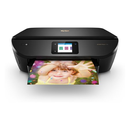 HP ENVY Photo 7155 All-in-One Printer with Wifi and Mobile Printing (Renewed) (Hp Printer Wi Fi)
