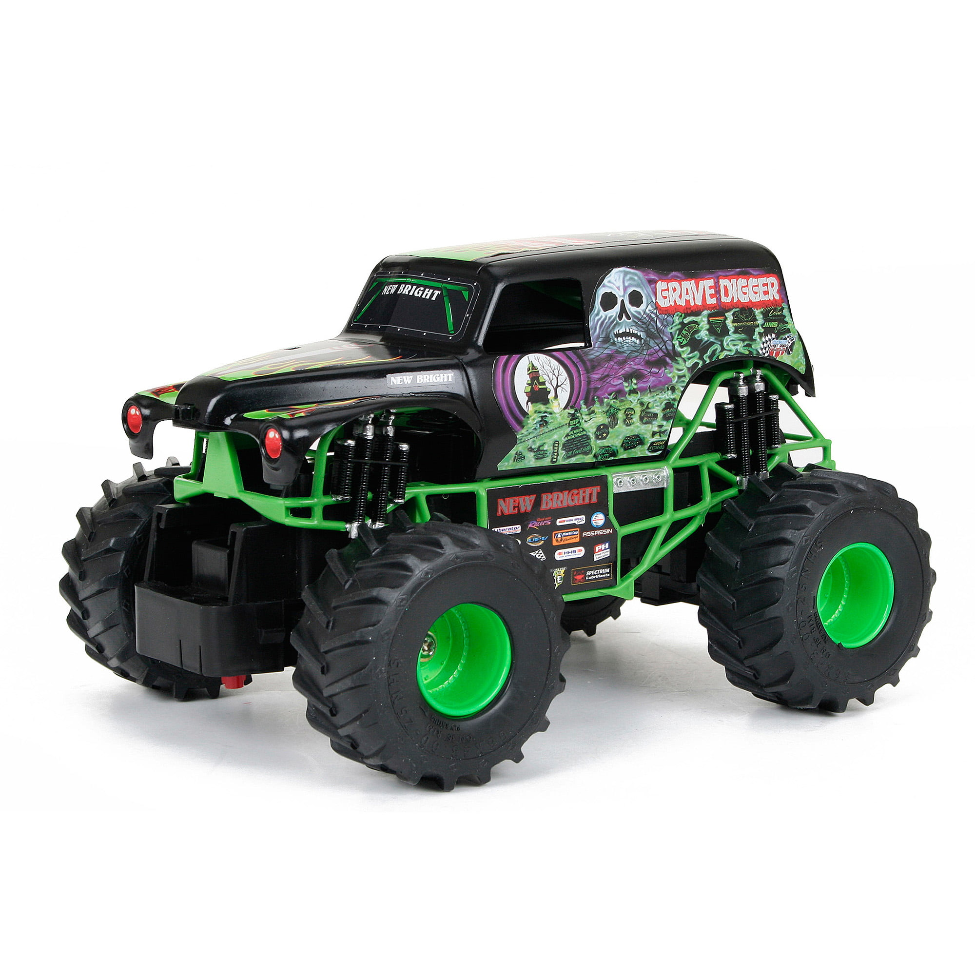 new bright 1 24 scale r c monster jam grave digger walmart com