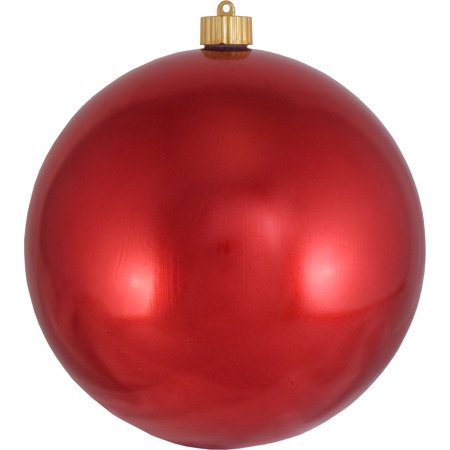 Christmas by Krebs Large Christmas Ornaments Shiny Red 8