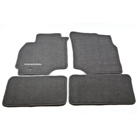 Mitsubishi 2002 2003 2004 2005 2006 GENUINE LANCER CARPET FLOOR MATS BLACK ALN02XFB01 (Mitsubishi Front Mat)