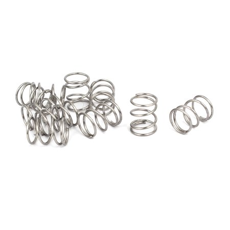 Compression Spring (0.7mmx8mmx10mm 304 Stainless Steel Compression Springs 10pcs )
