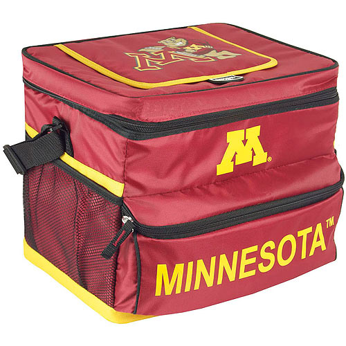 NCAA University Of Minnesota 18-Can Cooler with Removable Hardliner