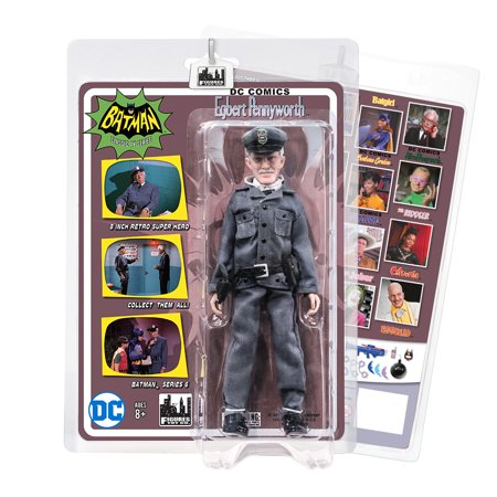 Batman Classic 1966 TV Series Action Figures Series 6: Egbert Pennyworth](Classic Batman)