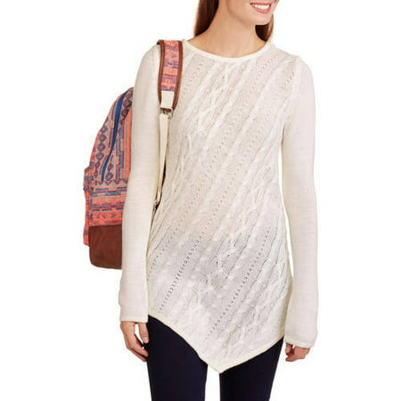 Image of Allison Brittney Women's Cable Pointelle Sweater