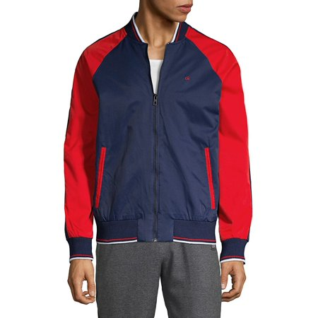 Colorblock Bomber Jacket -
