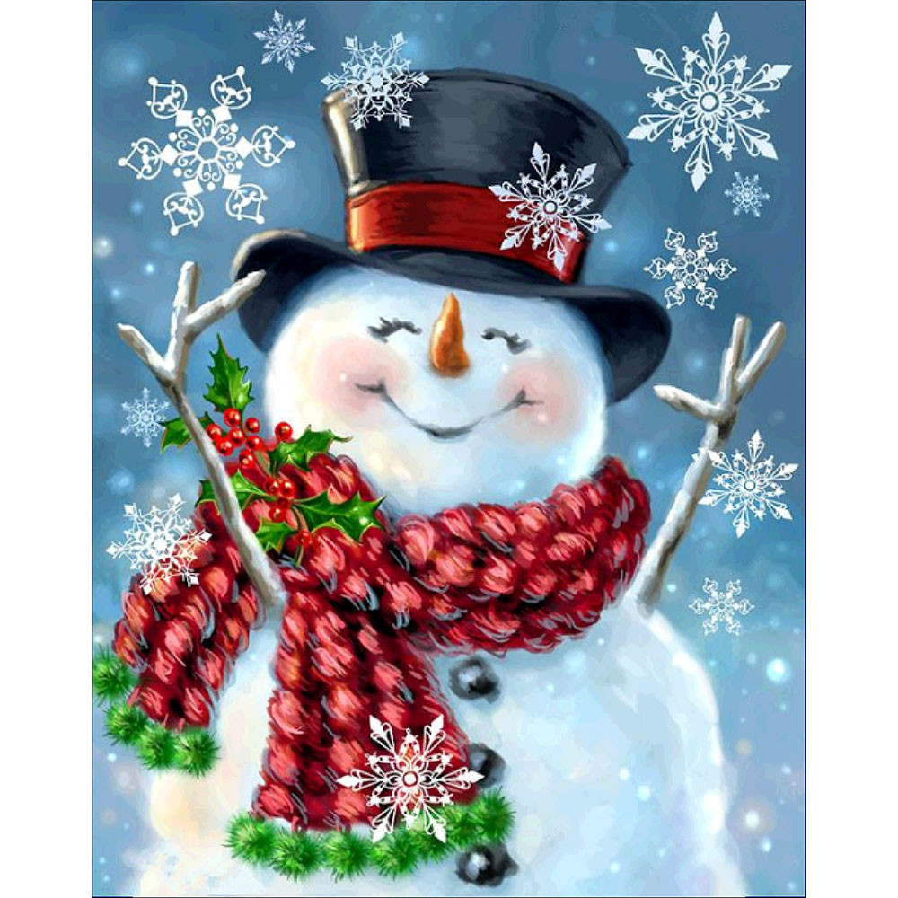 iLH Mallroom Christmas Diamond Rhinestone Pasted Embroidery Painting Cross Stitch Home Decor