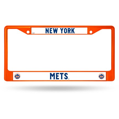 Rico Industries MLB Color License Plate Frame, New York