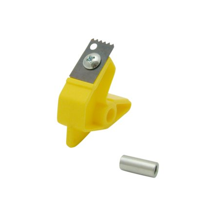 Excell BSD-RP Bag Sealing Dispenser Replacement Parts: Inside Blade Set for 7605K [blade, holder, screw, axle] (Silver) (Fanimation Blade Holder)