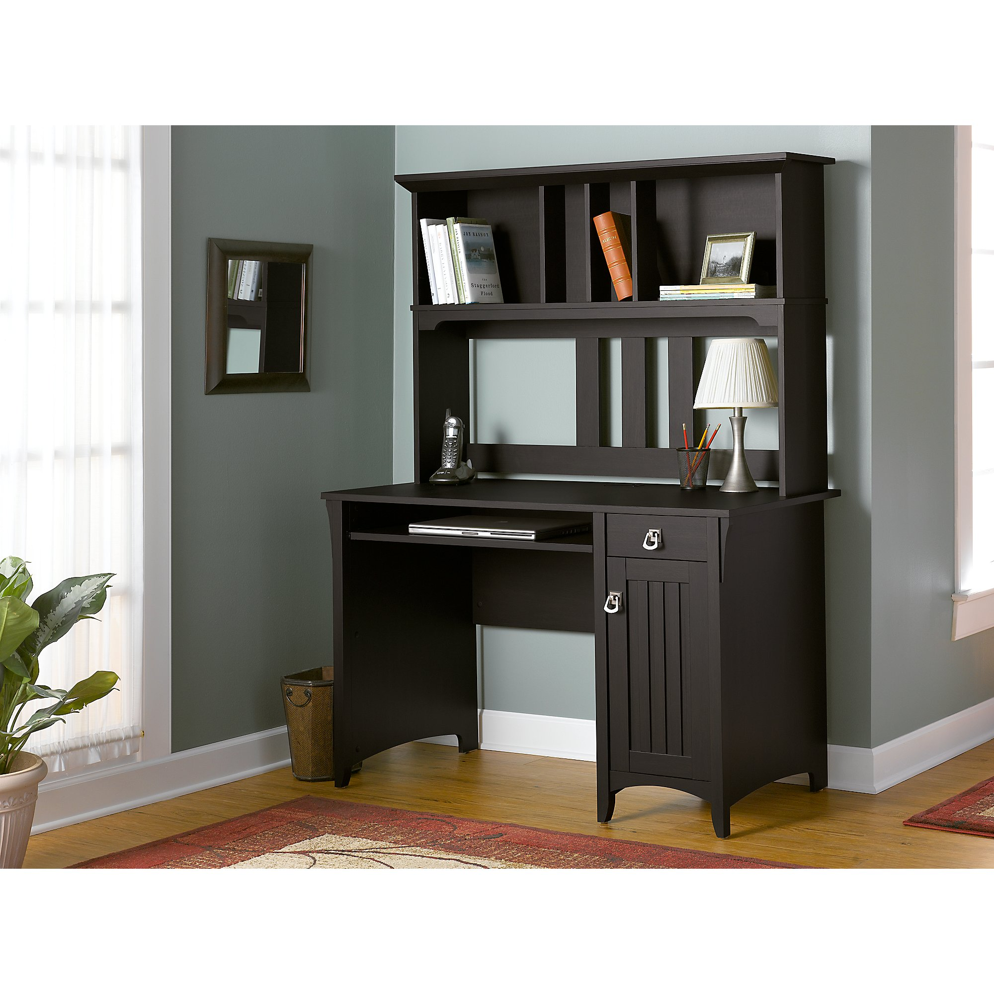 Bush Furniture Salinas Mission Desk & Hutch