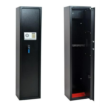 Homegear 5 Rifle Electronic Gun Safe with Internal Lockbox for