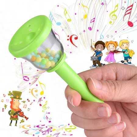 Eco Bells (Eco-Friendly Plastic Bell Handbell Musical Toy for Baby Toddlers Kids Children )