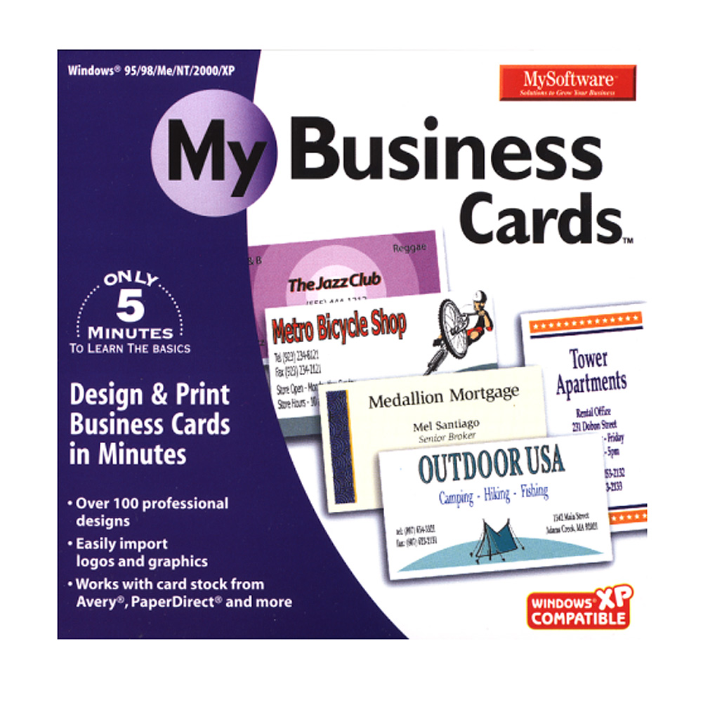 My Business Cards for Windows PC XSDP 128 6408 1 My