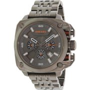 BAMF Chronograph Grey Dial Grey Ion-plated Mens Watch DZ7344
