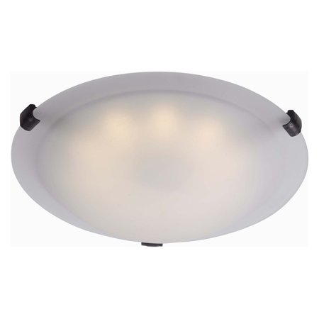 Kenroy Home Aero LED Flush mount, Oil Rubbed (Oil Rubbed Bronze Leg)
