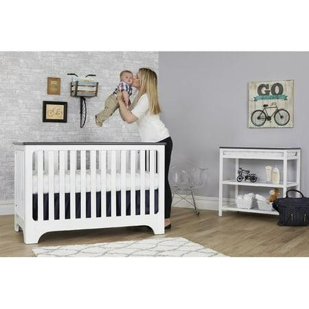 Suite Bebe Brooklyn Island 3-in-1 Convertible Crib (Cunas De Bebe)