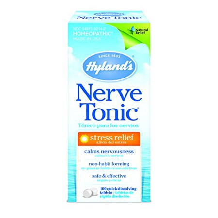 3 Pack - Hyland's Nerve Tonic Stress Relief 100 Tablets