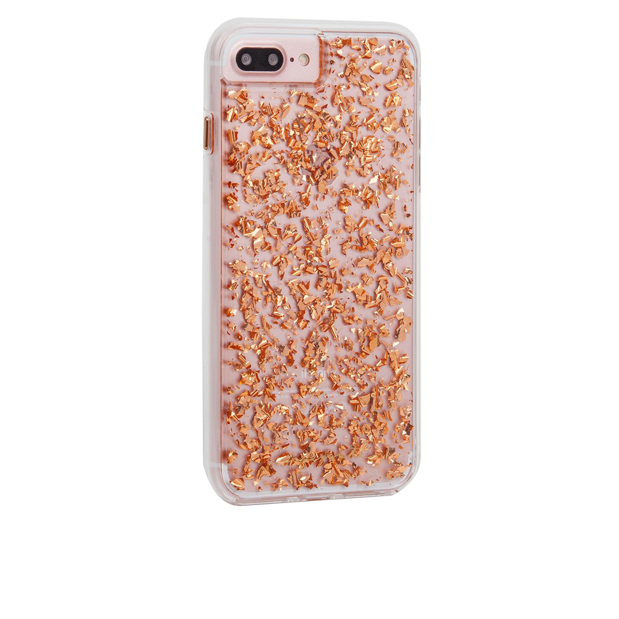 size 40 02ccd 23d05 iPhone 8/7/6S Plus Case-mate Rose Gold Leaf Karat case