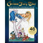 Grimm Fairy Tales Adult Coloring Book (Paperback)