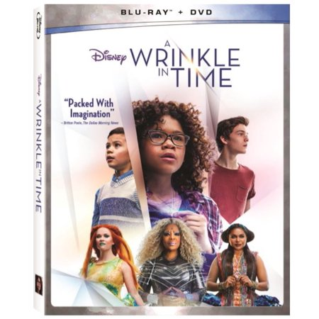 A Wrinkle In Time  Walmart Exclusive   Blu Ray   Dvd
