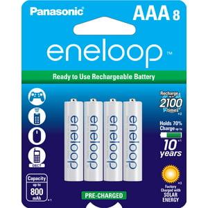 eneloop AAA 8 Pack