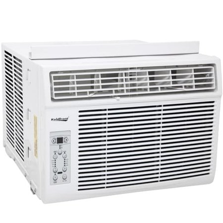 Koldfront 12 000 btu window air conditioner white for 12 000 btu window air conditioner with heat