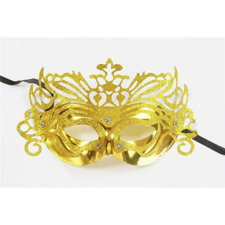 Masquerade Masks Jacksonville Fl (Kayso AZ005GD Gold Masquerade)