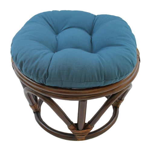 Blazing Needles Papasan Ottoman Cushion