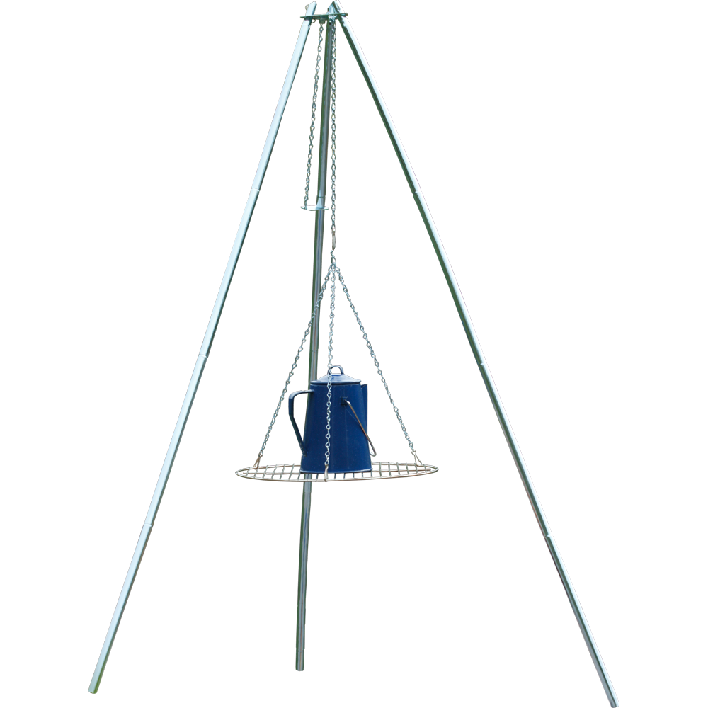 New Coghlan's Adjustable Height Galvanized Camp Fire Cooking Grate