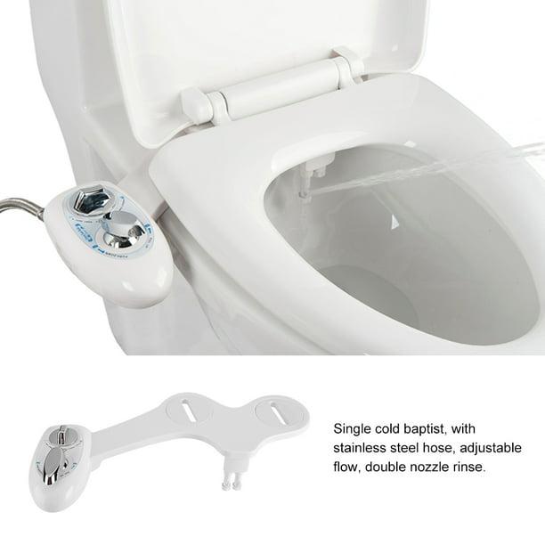 Dual Nozzle Cold Water Spray Non Electric Adjustable Mechanical Bidet Toilet Seat Attachment Bidet Toilet Bidet Toilet Seat Walmart Com Walmart Com