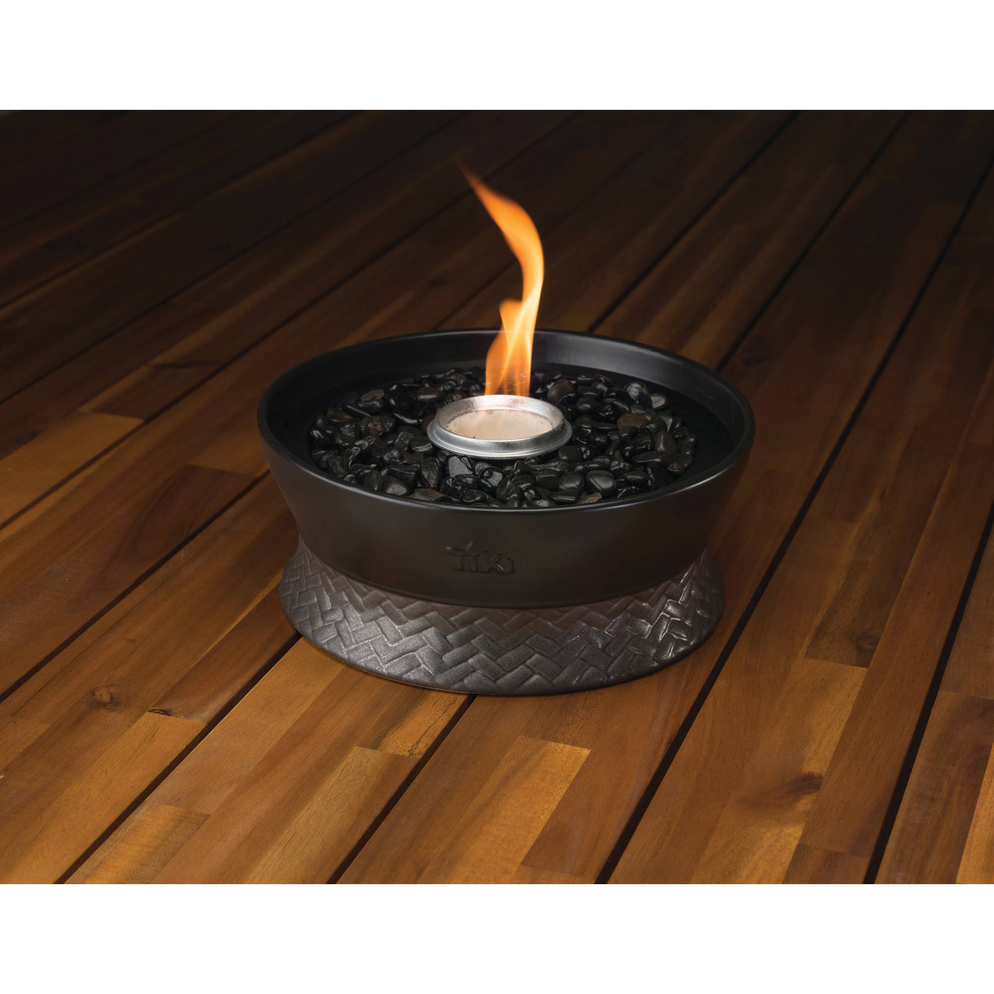 TIKI Brand Clean Burn Large Tabletop Fire Pit