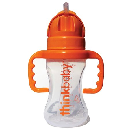 Thinkbaby Thinkster 9-ounce Plastic Straw Bottle