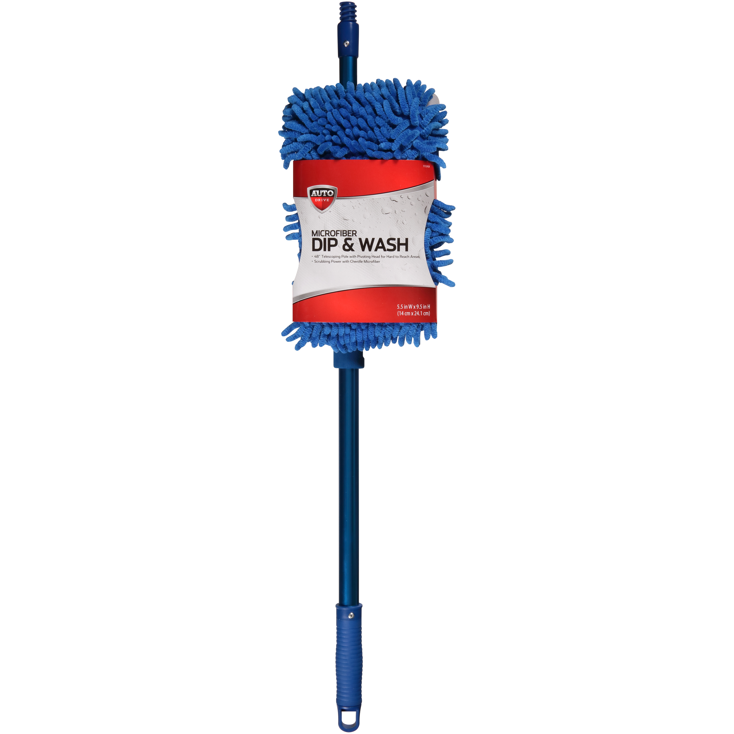 Auto Drive™ Microfiber Dip & Wash Mop Pack