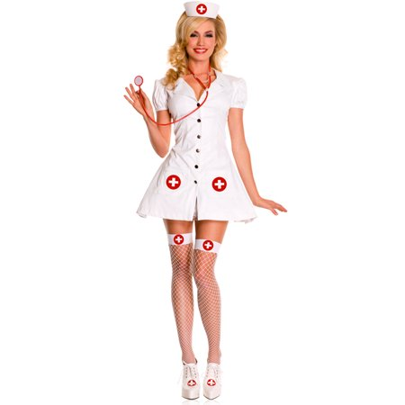 190b787bddc Sexy Nurse On Duty Costume