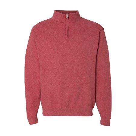 Jerzees Fleece Nublend? Quarter-Zip Cadet Collar Sweatshirt 995MR ()