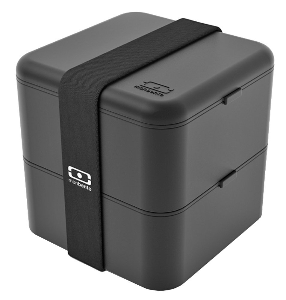 monbento MB Square Bento Box, Black