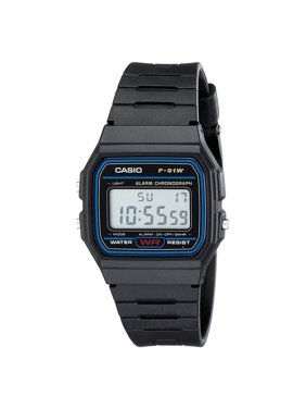 Casio Men's Classic Resin Strap Sport Watch F91W-1