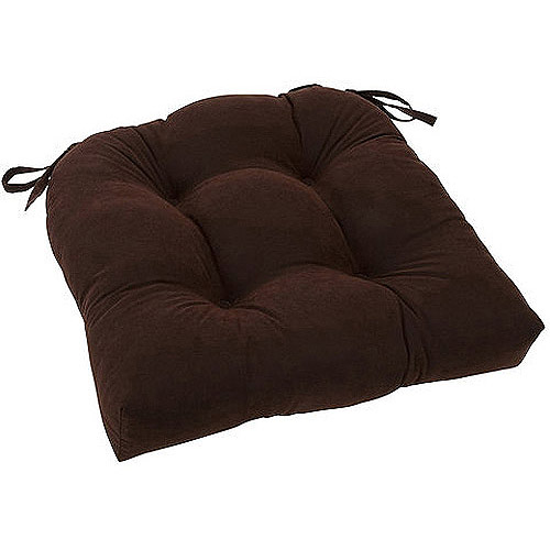 "Mainstays 14.5"" Microfiber Chair Pad, Single"