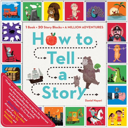 How To Tell A Story   1 Book   20 Story Blocks   A Million Adventures