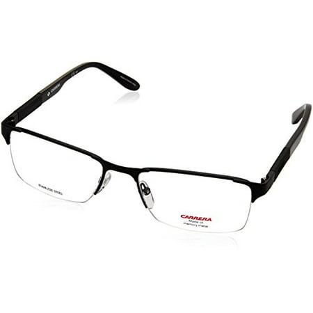 Carrera 8821 Eyeglass Frames CA8821-010G-5518 - Matte Black / Black ...