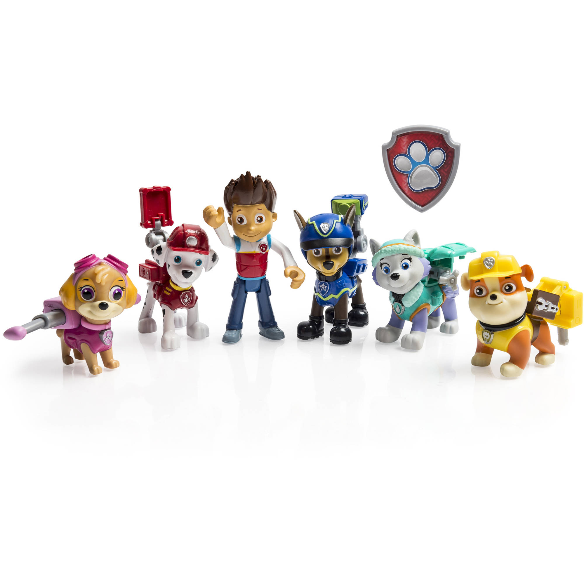 Paw Patrol, Action Pup 6 Pack Walmart Exclusive